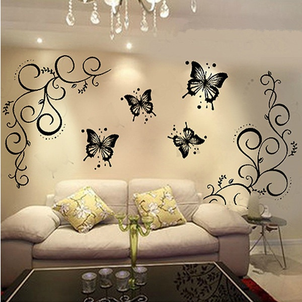 Luxury Wall Art Butterflies Gallery - All About Wallart - adelgazare ...