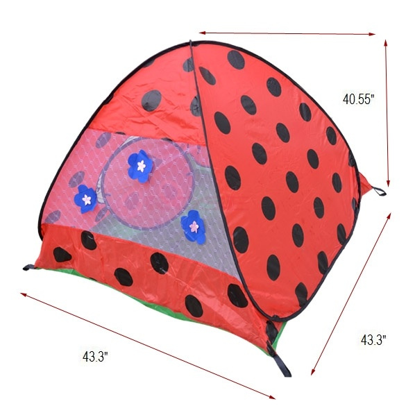 Wish | Safty Children Kids Ladybug Play Tents Indoor outdoor c&ing Tent Game house 14844 Baby  sc 1 st  Wish & Wish | Safty Children Kids Ladybug Play Tents Indoor outdoor ...