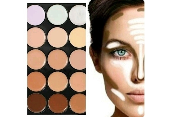 Picture of Camouflage Contouring Concealer Palette 15 Makeup Colors Makeup