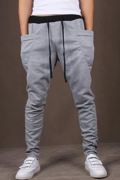 hombres para Pantalones de Hot Wish de Pants Men Harem 8 venta colores Baggy varios Sale Jogging colors dIBXqwq
