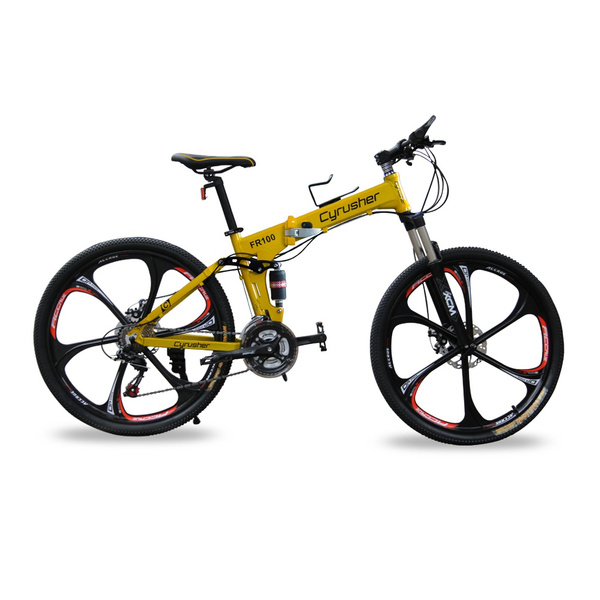Wish Fr 100 Hummer M310 24 Speeds Folding Mountain Bike Bicycle
