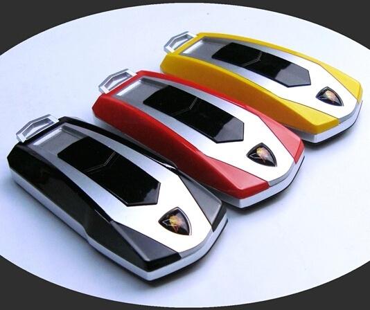 Lamborghini Car Keys Windproof Lighter Usb Charging Electronic