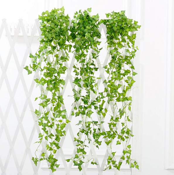 Picture of Artificial Ivy Leaf Garland Plants Vine Fake Foliage Flowers Home Decor