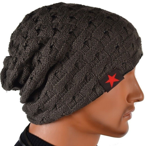2c0ce4ce6f1 Hip-Hop Supreme star Beanies Cotton Stay warm outdoor knit cap wool Hats