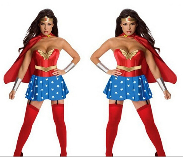 wish halloween costumes party evening dress sexy costumes cosplay wonder woman corset adult costume 11922 - Wish Halloween Costumes