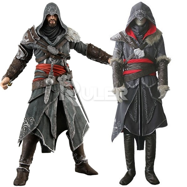 Rulercoshop Assassins Creed Revelations Ezio Auditore Cosplay Costume Deluxe Ver Wish