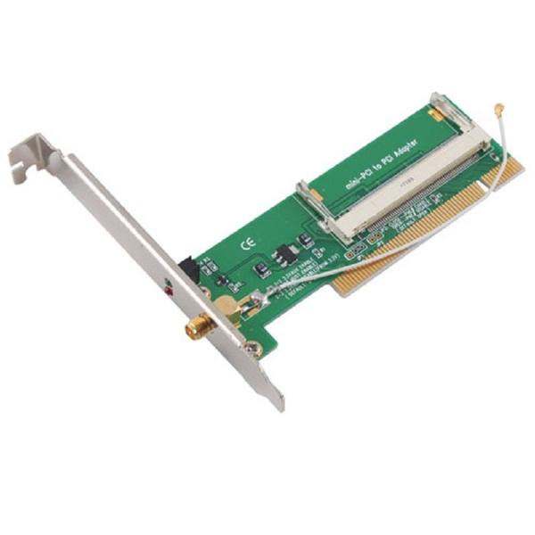 Wish | Mini PCI to PCI Adaptor Converter Wireless Wifi Card Antenna