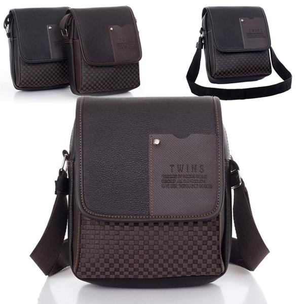 Picture of Fashion Men's Synthetic Sport Leather Bag Vintage Handbag Shoulder Tote Bag Messenger Briefcase