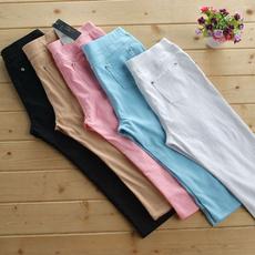 Women Pants, pencil, Plus Size, Capris
