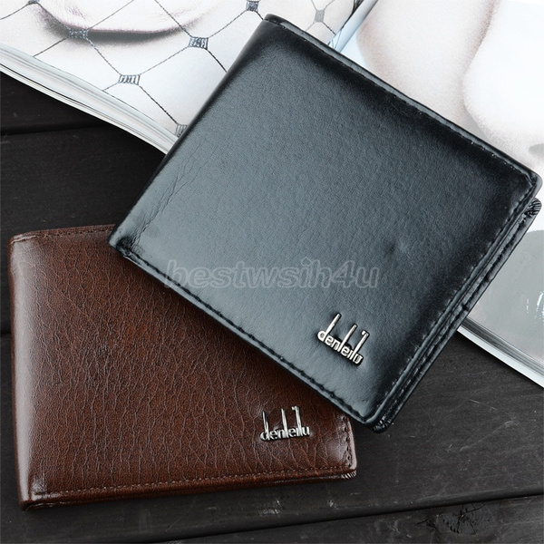 Picture of Men's Synthetic Leather Wallet Money Pockets Credit/id Cards Holder Purse