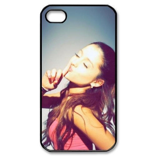 Pop Singer Ariana Grande Hard Slim Fit Cell Phones Cover Case for iphone4  4s, iphone5 5s, iphone5c