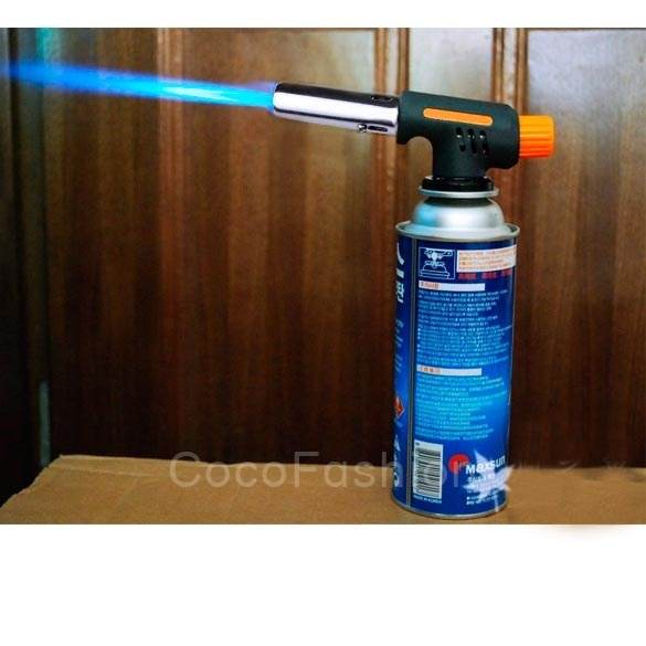 Kovea Camping One-Touch auto ignition Gas Torch Butane Welding Burner CFC