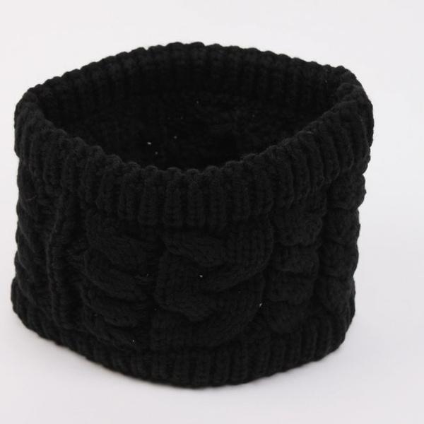 Twisted Knitted Yarn Empty Hat Women Winter Fashion Hair Accessories Headbands