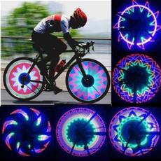 32 LED Patterns Cycling Bikes Bicycles Rainbow Wheel Signal Tire Spoke Light