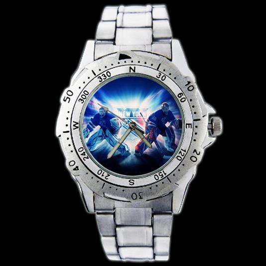 New York Rangers Henrik Lundqvist Steve Metal Wrist Watch Wish