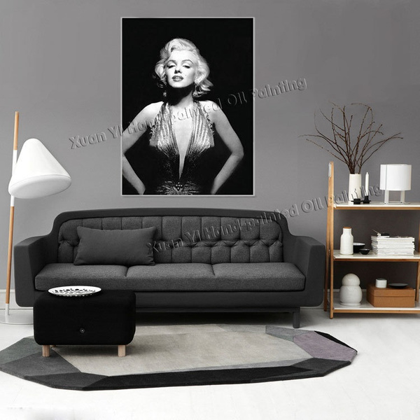 Wish | Wall Pictures For Bedroom Canvas Painting Sexy Marilyn Monroe Home  Decor Picture On Wall Hunging Canvas Prints XD (153)