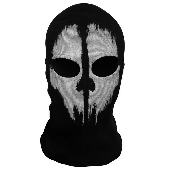 New Black Call Of Duty Cod Ghosts Logan Last Mission Balaclava