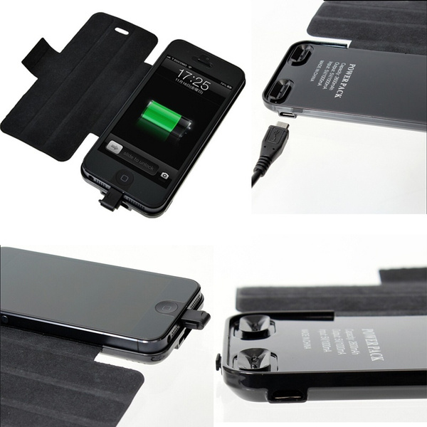 Convenient Carry Unfold portable Charging Backup Batteries Charger  Authentic Accessories Outdoor Equipment Power Bank Power Supply Battery  iPhone Case