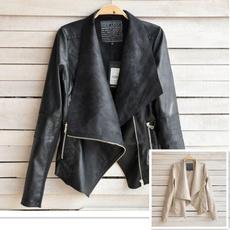 Fashion, Blazer, PU Leather, leather