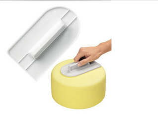 Home Kitchen Cake Decorating Tools Cake Smooth Screeding Mold Tool DIY Case