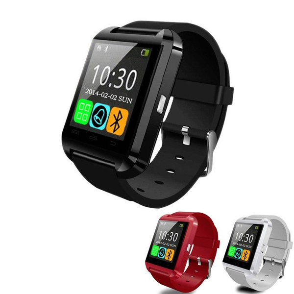 5c58d63f9 New U8 Bluetooth Smart Wrist Watch Phone Mate For IOS Android ...
