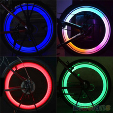 Safety Bright Bike Bicycle Cycling Car Wheel Tire Tyre LED Spoke Light Lamp