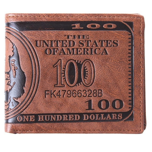 Picture of 1pcs Men Us Dollar Bill Wallet Pu Dollar Wallet