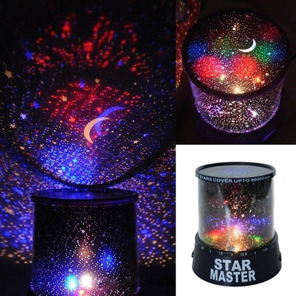 Picture of Romantic Kids Gift Sky Star Led Starry Night Light Cosmos Master Projector Lamp Ap