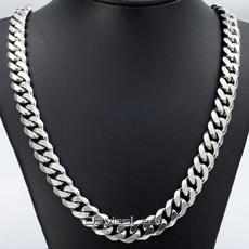 Steel, mensnecklacechain, Jewelry, Chain