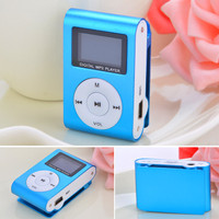 Mini 1-32GB Micro SD TFClip USB LCD MP3 Music Media Player With FM Radio