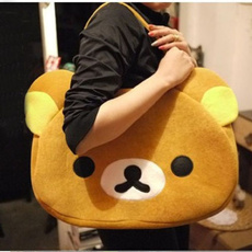 Shoulder, cute, rilakkuma, brown