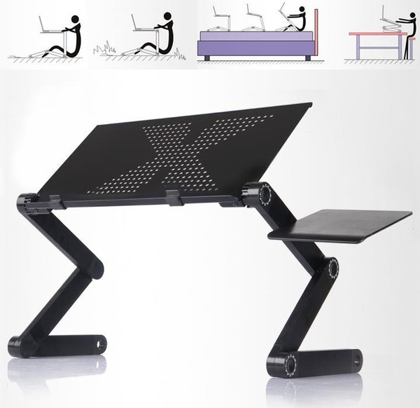 Sensational Laptop Table Adjustable Portable Bed Sofa Tray Book Stand Tabletop Tray Theyellowbook Wood Chair Design Ideas Theyellowbookinfo