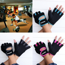 Gym Fitness Workout Weight Lifting Cycling Driving Hunting Half Mitt Glove  7_S
