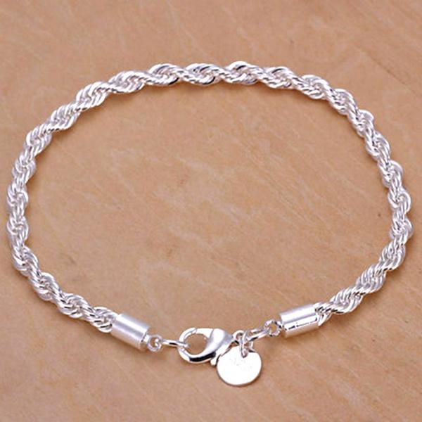 Sterling, wristbandbracelet, Rope, Wristbands