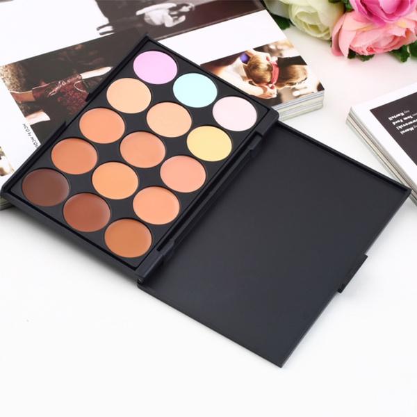 Picture of Professional Salon/party 15 Colors Concealer Contour Face Cream Makeup Palette A