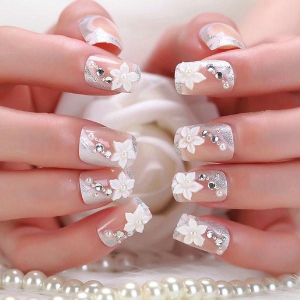 Wish Wedding Diy Nail Art Stickers Womens Fashion Full Nail