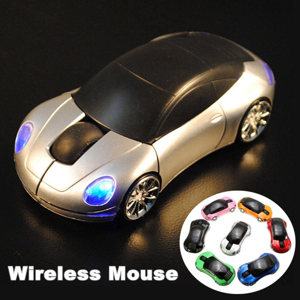 Picture of For Laptop Pc 1800dpi Usb 2.4g Wireless Optical Mouse Mice Car Shaped Dl