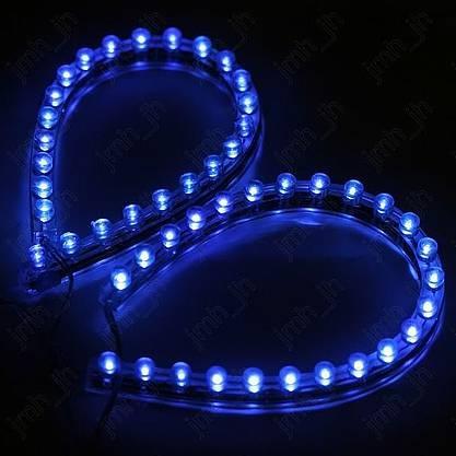 Wish Aquarium Licht 24er Led Lichtstreifen Band Blau Leuchten