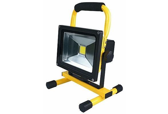 Komplett Neu Wish | LED Akku Strahler 10W-50W Handlampe Arbeitsleuchte  PS04