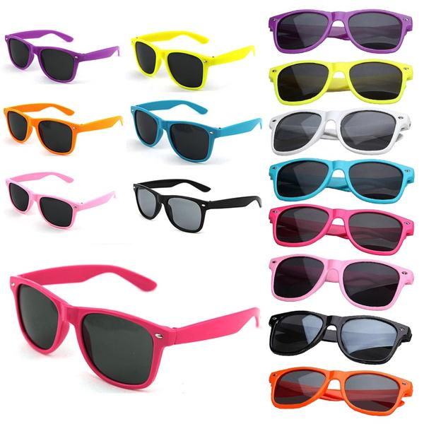Picture of Retro Vintage Unisex Classic Mirrored Wayfarer Sunglasses Aviator Shades Eyewear