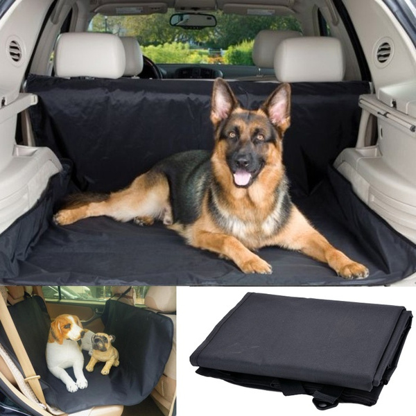 wish   waterproof dog pet car back seat cover hammock zip straps oxford universal black l l wish   waterproof dog pet car back seat cover hammock zip straps      rh   wish