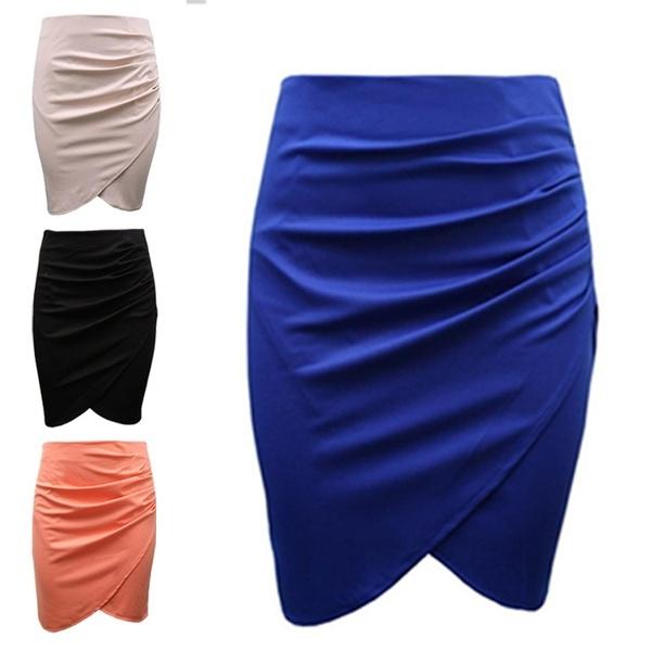Summer, Shorts, stepskirt, Knee High