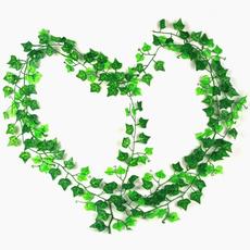 240cm Artificial Ivy Leaf Garland Plants Home decor Wedding decoration