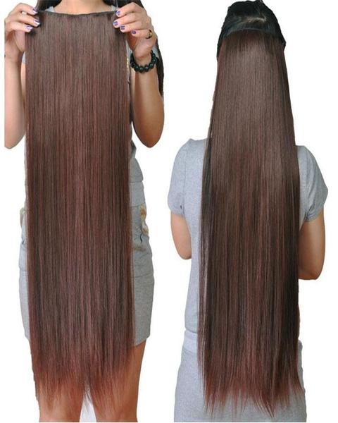 Head, Fashion, Hair Extensions, straighthairclipwig