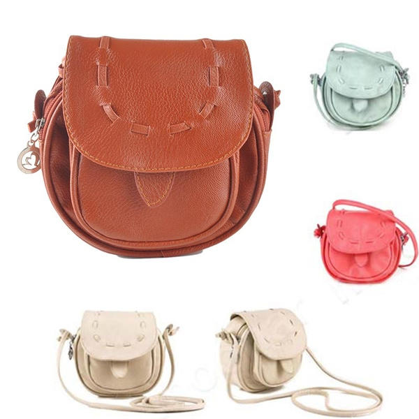 Picture of Mini Small Women Pu Leather Messenger Handbag Sling Shoulder Bag Crossbody Purse
