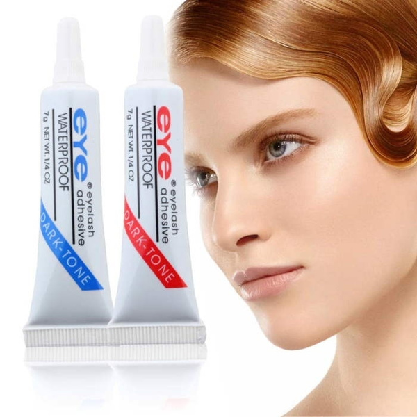 Waterproof False Eyelashes Makeup Adhesive Eye Lash Glue thin firm
