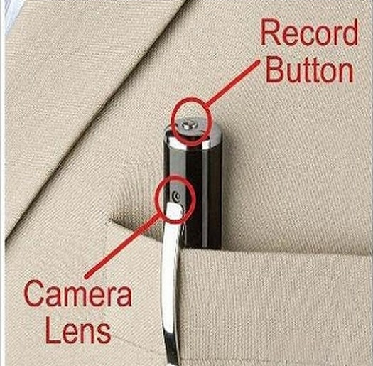 Picture of Mini Camera Spy Cam Pen Hd 1280x960 Hidden Camera Micro Sd Card Dv Dvr Video Mini Camcorders8g Card Included