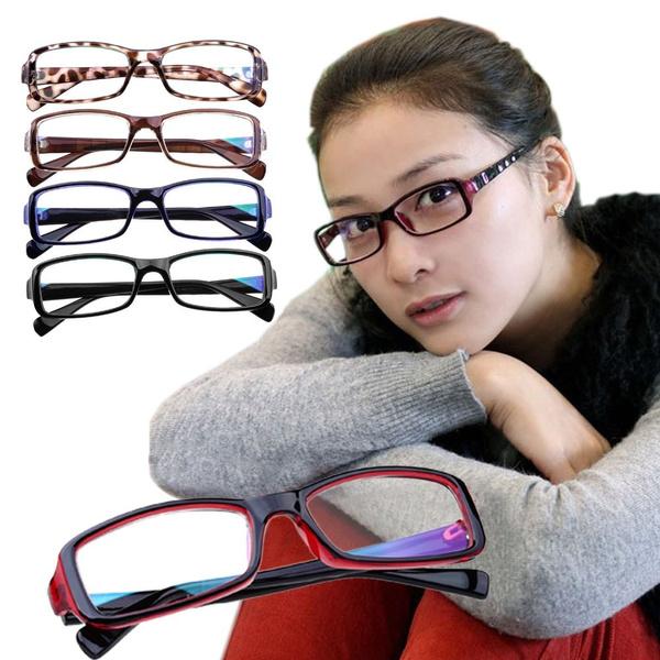 Picture of Rectangular Basic Small Frame Wayfarer Nerd Glasses Eyewear