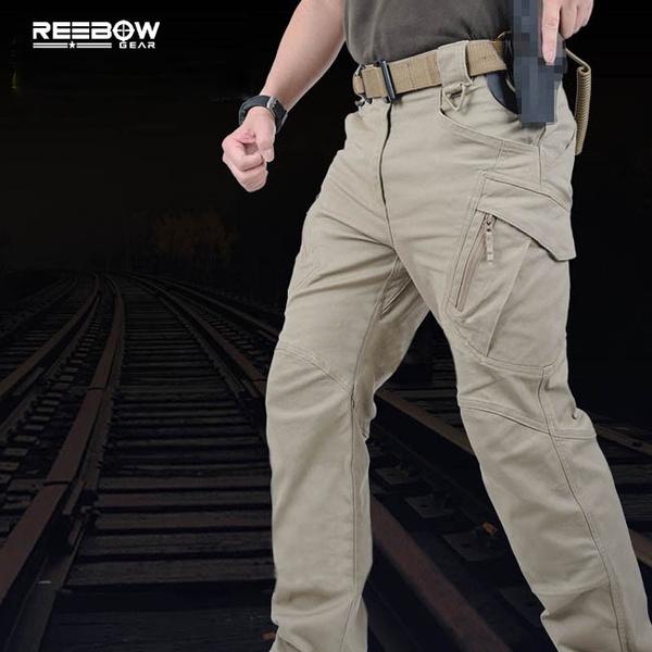 Urban Tactical Pants IX9 Mens Military Combat Assault Outdoor Sport SWAT  Training Army Trousers YKK zipper(Attention Size)