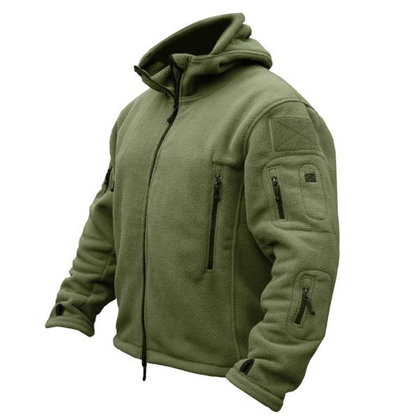 Fleece, Outdoor, Hiking, Coat